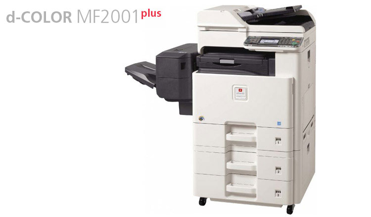 The d-COLOR MF2001Plus is an entry level A3 colour multifunction system from Olivetti that combines professional office colour quality with the needs of users who require a product that is easy to install, use and maintain.