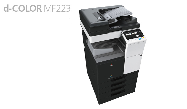 The new d-Color MF223 and d-Color MF283 multifunction Systems are perfect for anyone looking for quality technology at an affordable price.