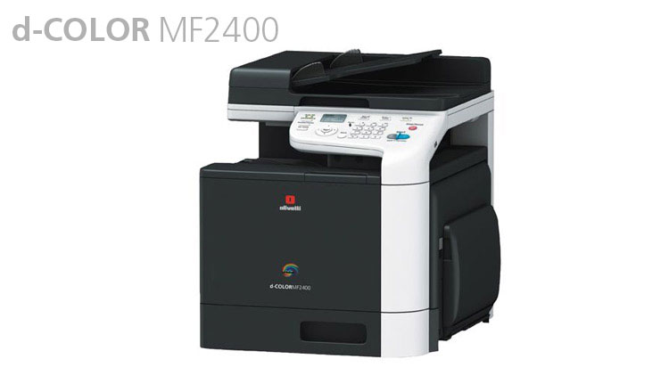 The A4 colour MFP d-Color MF2400 available from Durban Data Imports offers as standard all the features needed by small to medium offices, including printing at 25 pages per minute, scanning, fax, duplex printing and copying, and has an automatic document feeder. The long-life toner cartridges ensure excellent print quality for both colour images and text, with running costs among the lowest for this product class.