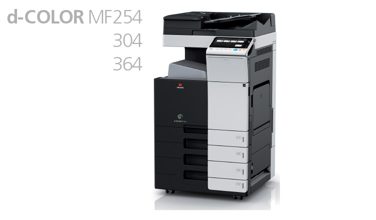 Designed to deliver the highest standard of print quality both in mono and colour, even under heavy volume conditions, the new d-Color MF304 and d-Color MF364 A3 colour multifunctional systems are ready to be put to the test.