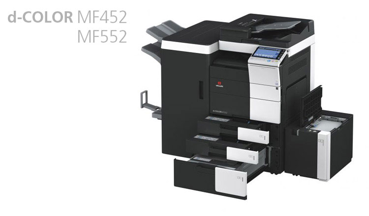 The Olivetti d-Color MF452 and MF552 are ideally suited for medium to high volume installations, where in-house colour document production is required,  with full colour printing, finishing options and low running costs essential to the success of the business.  These units are available from Durban Data Imports and have a 9 inch Multi-touch control panel, a gateway to the functions of the machine that is more similar to the display of a tablet than to that of a normal MFP. Productivity is coupled with sustainability with significant effects to lowering the electricity bill.