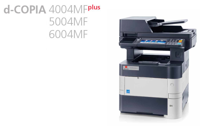 These multifunction systems combine professional quality with the needs of users who require a product that is easy to install, use and maintain. Olivetti's d-COPIA 4004MFPlus, d-COPIA 5004MF and d-COPIA 6004MF are available from Durban Data Imports. These units have a standard 1.5 GB memory, and can handle print queues of up to 10 users quickly and efficiently. Competitive costs: low initial outlay, very low maintenance costs, reduced energy consumption makes these units attractive for SMEs.