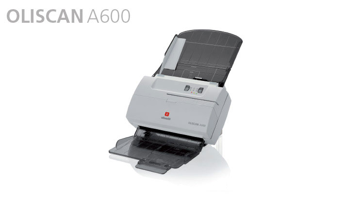 The Olivetti Oliscan A600 is a colour duplex scanner specifically designed for bank tellers: a single device for scanning cheques and A4 documents. In particular the device scans all documents - from A4 format to credit card format, including identity cards, and it also reads cheque MICR code lines, OCR data and barcodes. The Oliscan A600 is also a useful addition to the general office, where desktop scanning is a daily requirement.