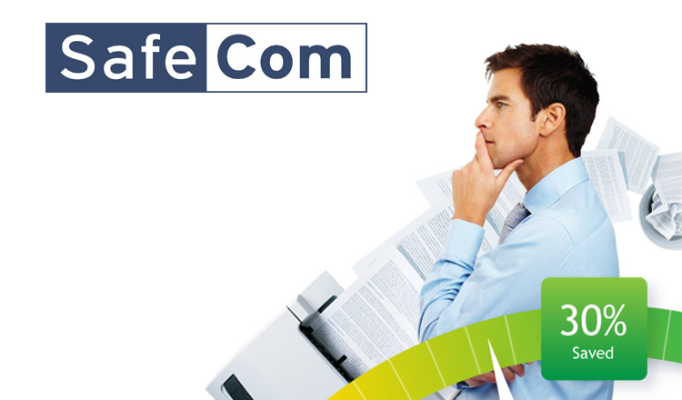SafeCom is a specialized software package that delivers efficient Managed Print Services. It is a multivendor software which integrates in most manufacturers' single function and multifunctional printers and their user interface. This unique software provides the solution to administer complete print cost control and reduction and to reduce the impact on the environment.